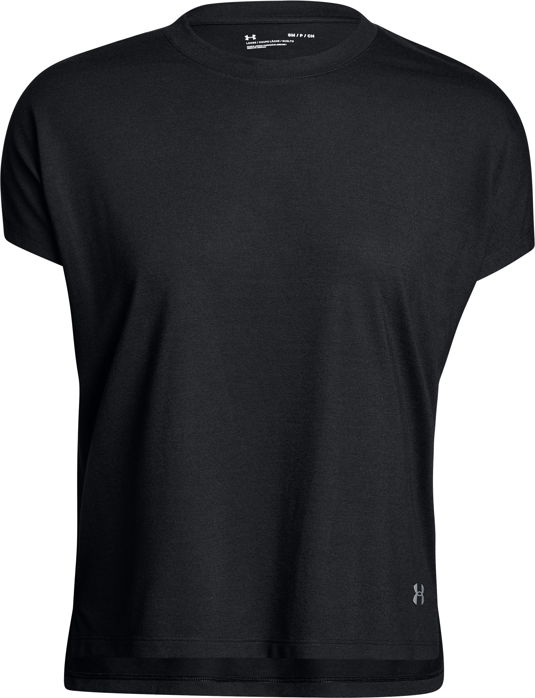 Women's UA Essentials T-Shirt, Black ,