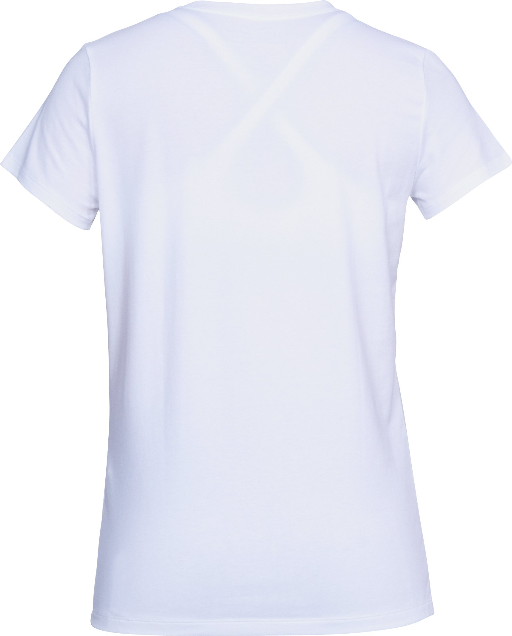 Women's UA Sportstyle Box Logo T-Shirt, White,