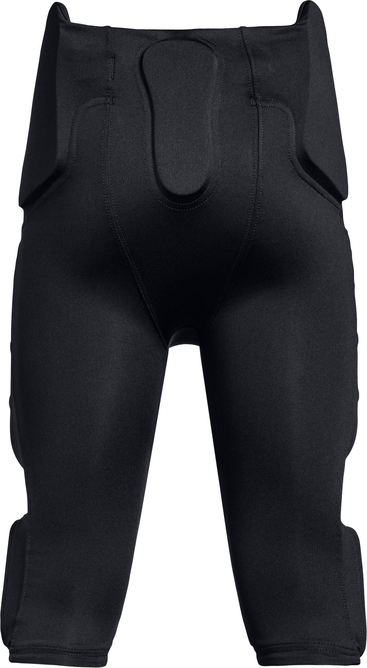 Boys' UA Integrated Football Pants, Black ,