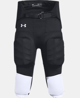 Youth UA Integrated Football Pants  1  Color Available $50