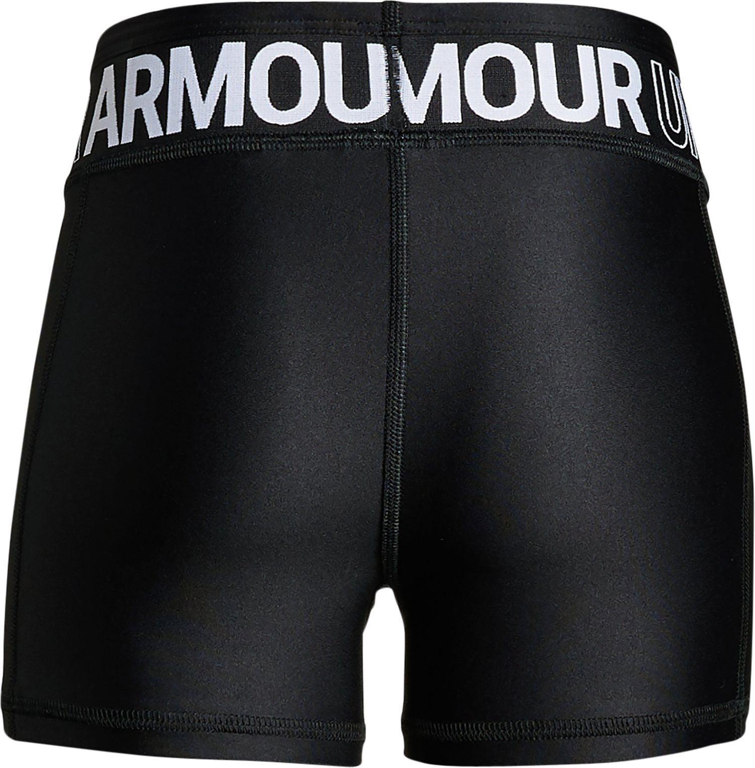Girls' HeatGear® Armour Shorty, Black ,