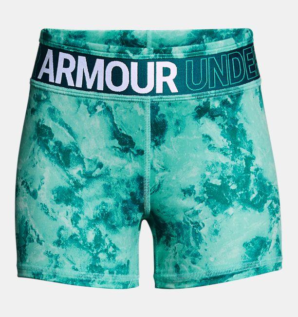 9cd33286b5b72 Girls  HeatGear® Armour Printed Shorty