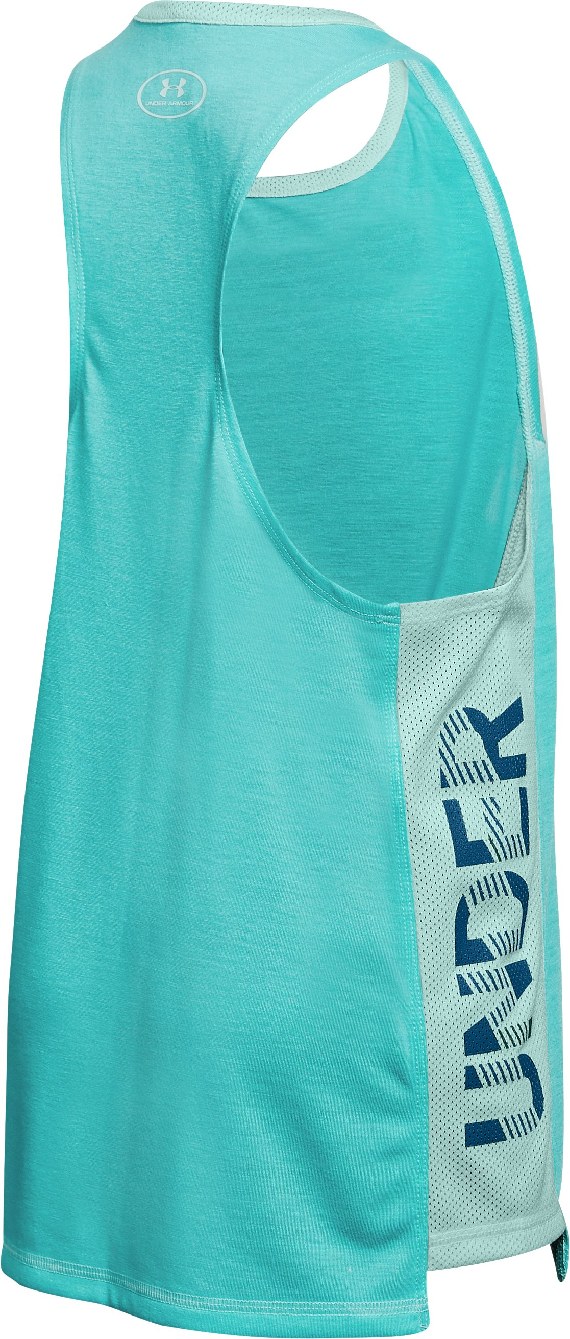 Girls' UA Siro Tank, TROPICAL TIDE,