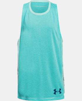 Girls' UA Siro Tank FREE U.S. SHIPPING 1  Color Available $28