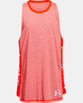 Girls' UA Siro Tank FREE U.S. SHIPPING 4  Colors Available $28