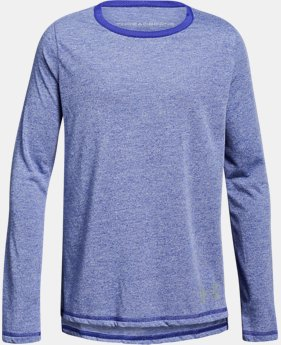 Girls' UA Siro Long Sleeve  2  Colors Available $30