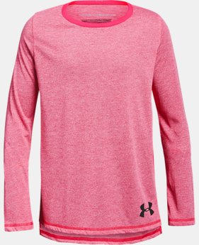 Girls' UA Siro Long Sleeve  2  Colors Available $18 to $22.5