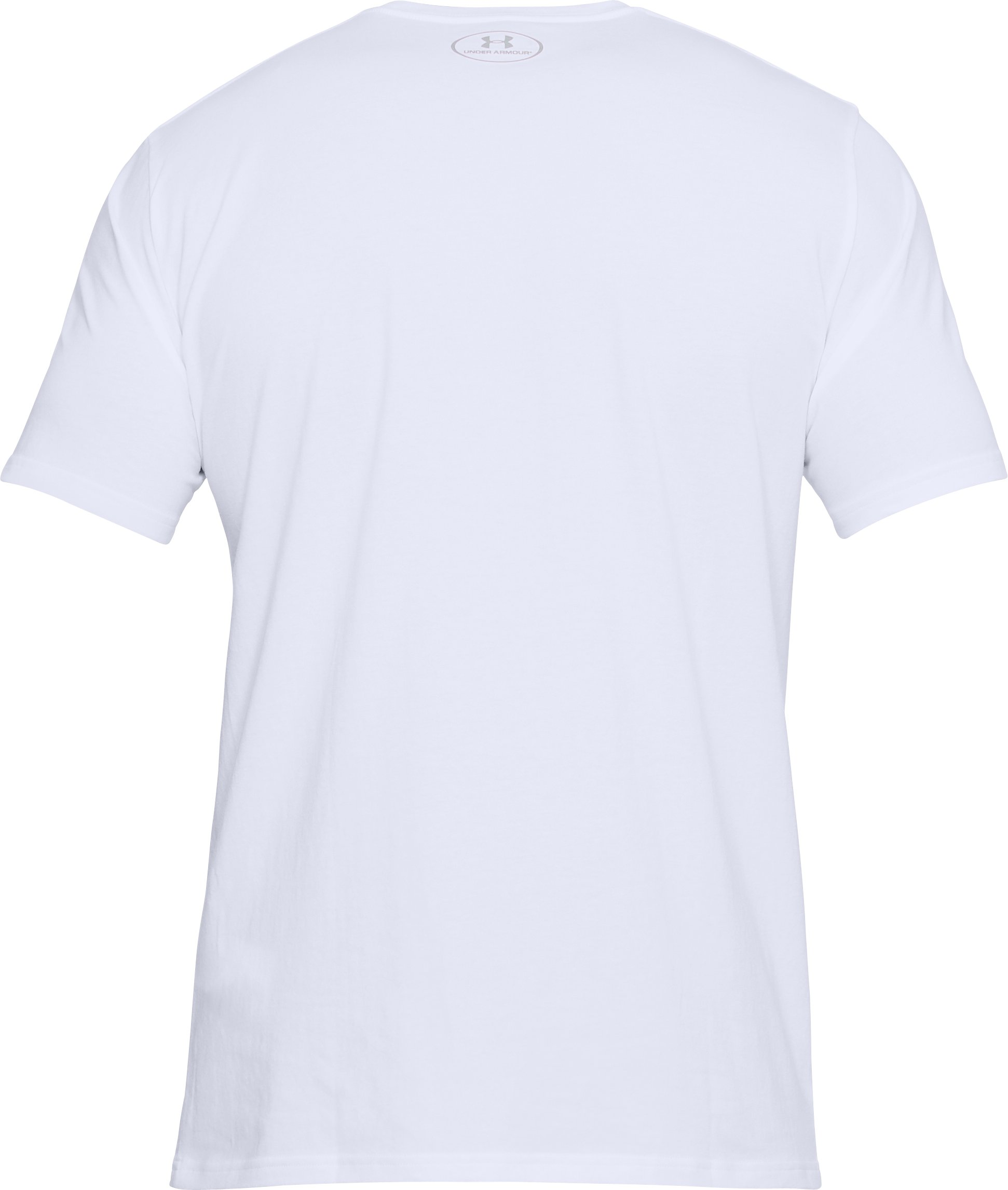 Men's UA Boxed Sportstyle T-Shirt, White,