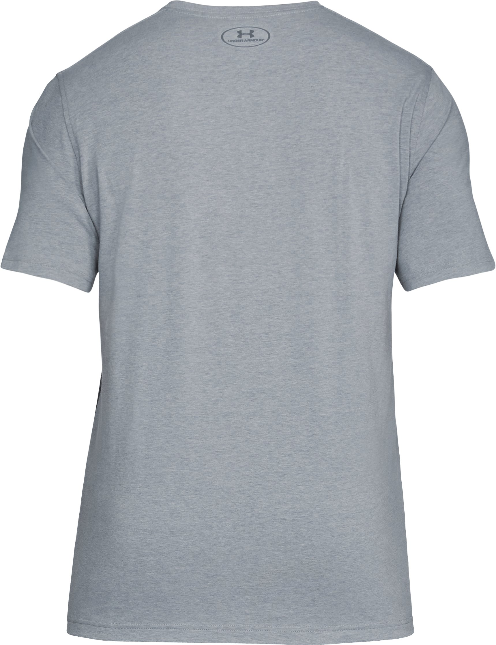 Men's UA Raise the Bar T-Shirt, STEEL LIGHT HEATHER,