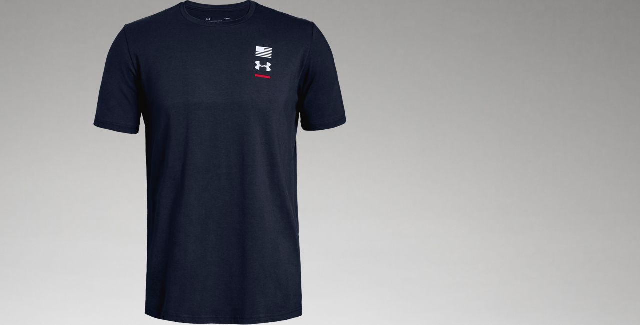 Ua Usa Men's  Graphic T Shirt by Under Armour