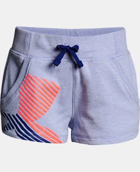 New Arrival Girls' UA Microthread Terry Shorts  2 Colors $30