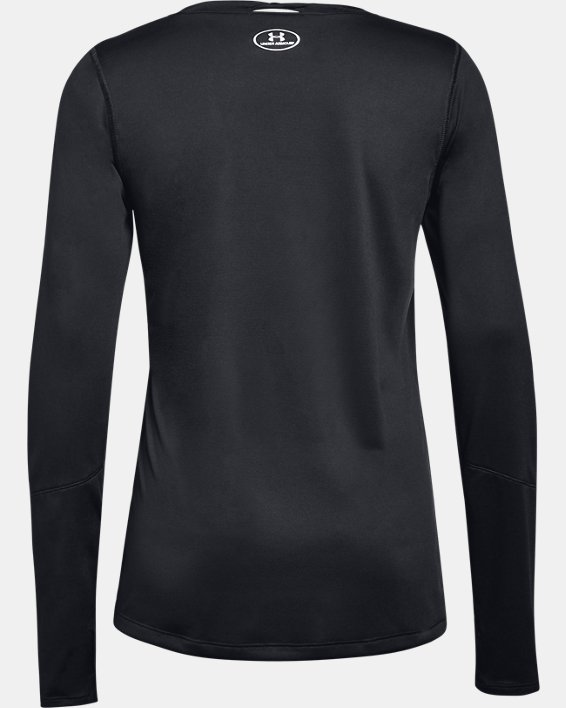 Women's UA Locker 2.0 Long Sleeve, Black, pdpMainDesktop image number 4