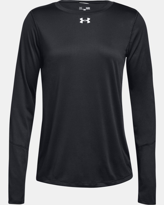Women's UA Locker 2.0 Long Sleeve, Black, pdpMainDesktop image number 3