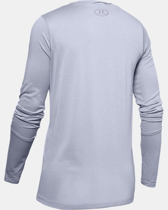 Women's UA Locker 2.0 Long Sleeve, Gray, pdpMainDesktop image number 5