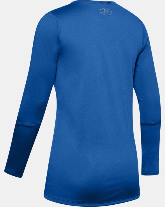 Women's UA Locker 2.0 Long Sleeve, Blue, pdpMainDesktop image number 5