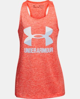 Girls' UA Big Logo Slash Tank   $24.99