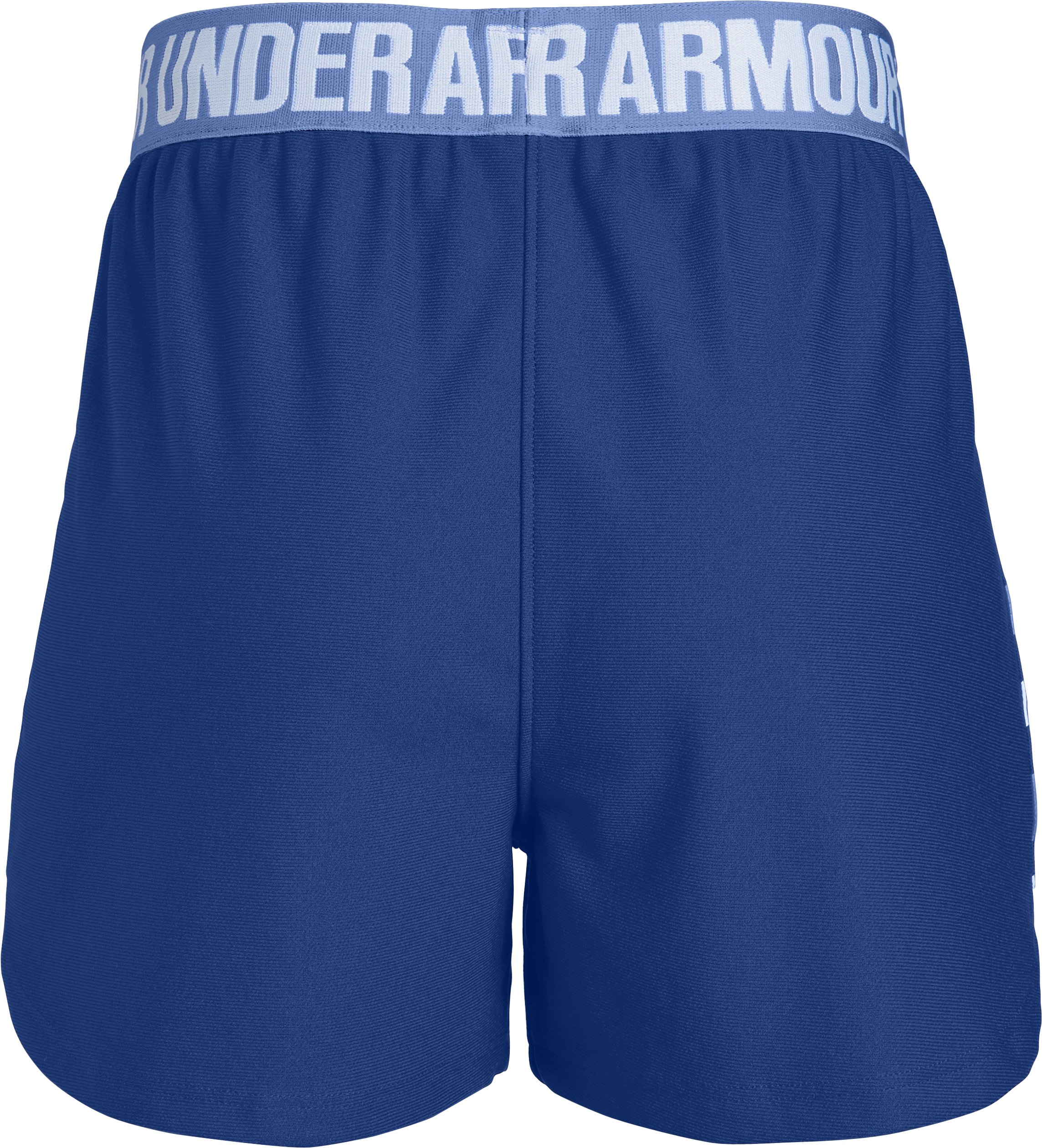 Girls' UA Play Up Graphic Shorts, FORMATION BLUE,