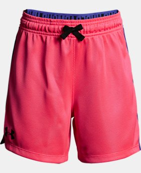 New Arrival Girls' UA Center Spot Shorts  3 Colors $25