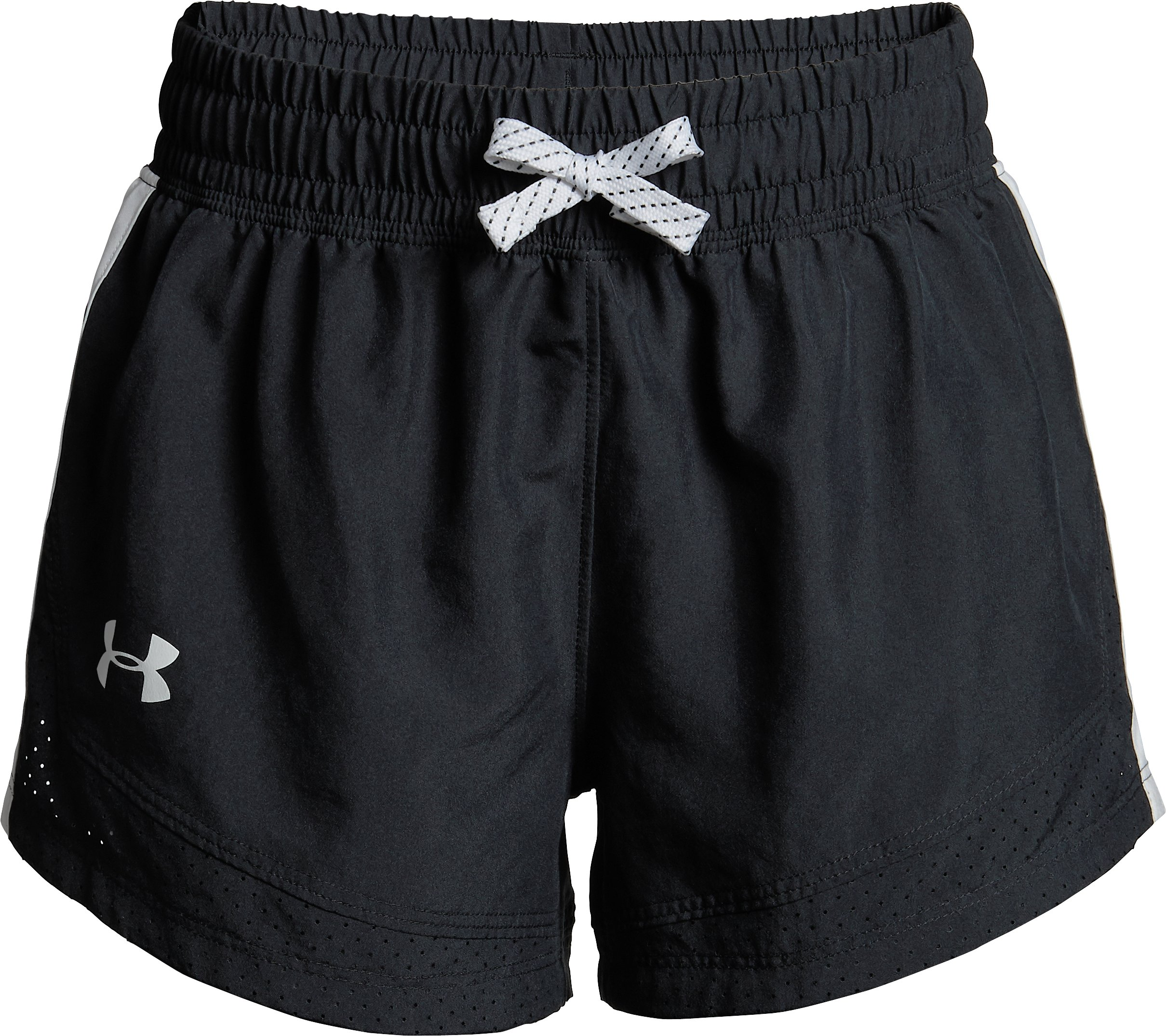 Girls' UA Sprint Shorts, Black ,