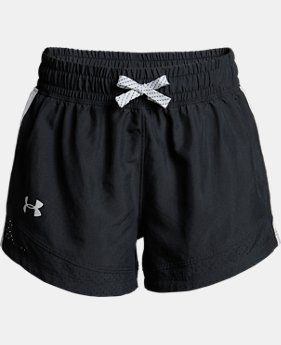 Girls' UA Sprint Shorts  4  Colors $30