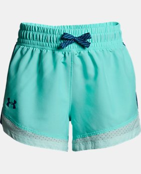 Girls' UA Sprint Shorts  1  Color Available $25