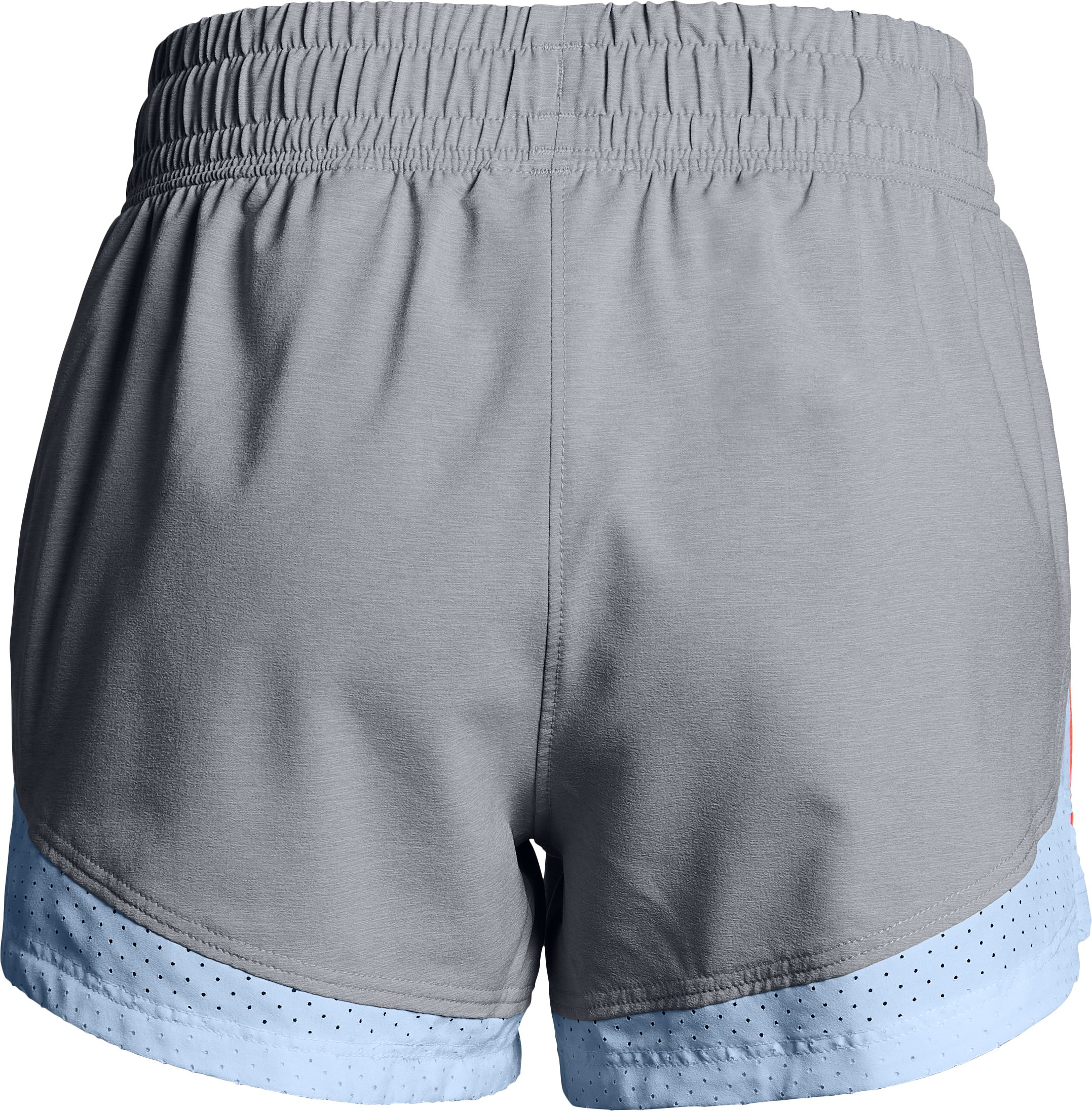 Girls' UA Sprint Shorts, OVERCAST GRAY,