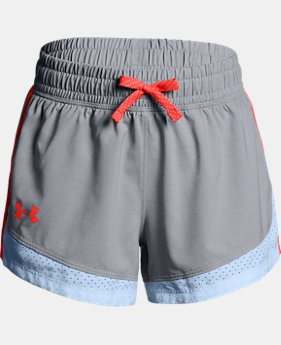 Girls' UA Sprint Shorts  4  Colors Available $15 to $21.25