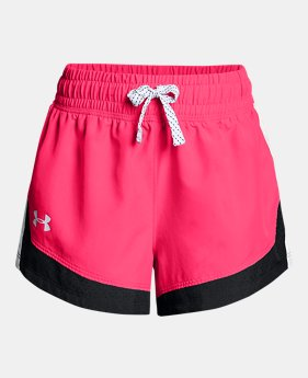 66069301480cc Girls  UA Sprint Shorts 2 Colors Available  15 to  17.99