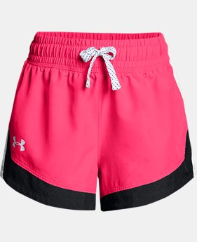 Girls' UA Sprint Shorts  2  Colors Available $25