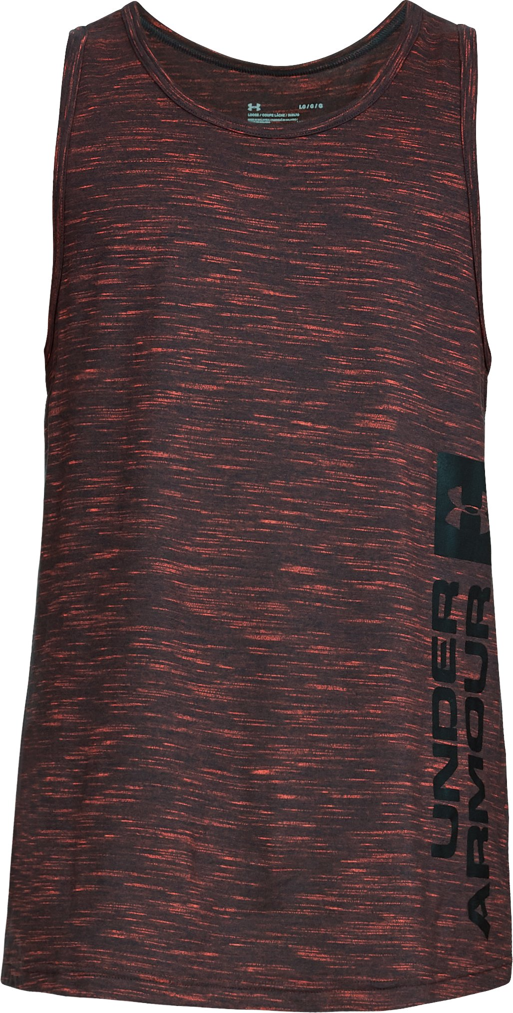 Men's UA Sportstyle Graphic Tank, ANTHRACITE,