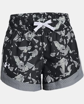 Girls' UA Sprint Printed Shorts FREE U.S. SHIPPING 2  Colors Available $30