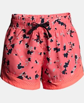 New Arrival Girls' UA Sprint Printed Shorts LIMITED TIME: FREE U.S. SHIPPING 1 Color $30