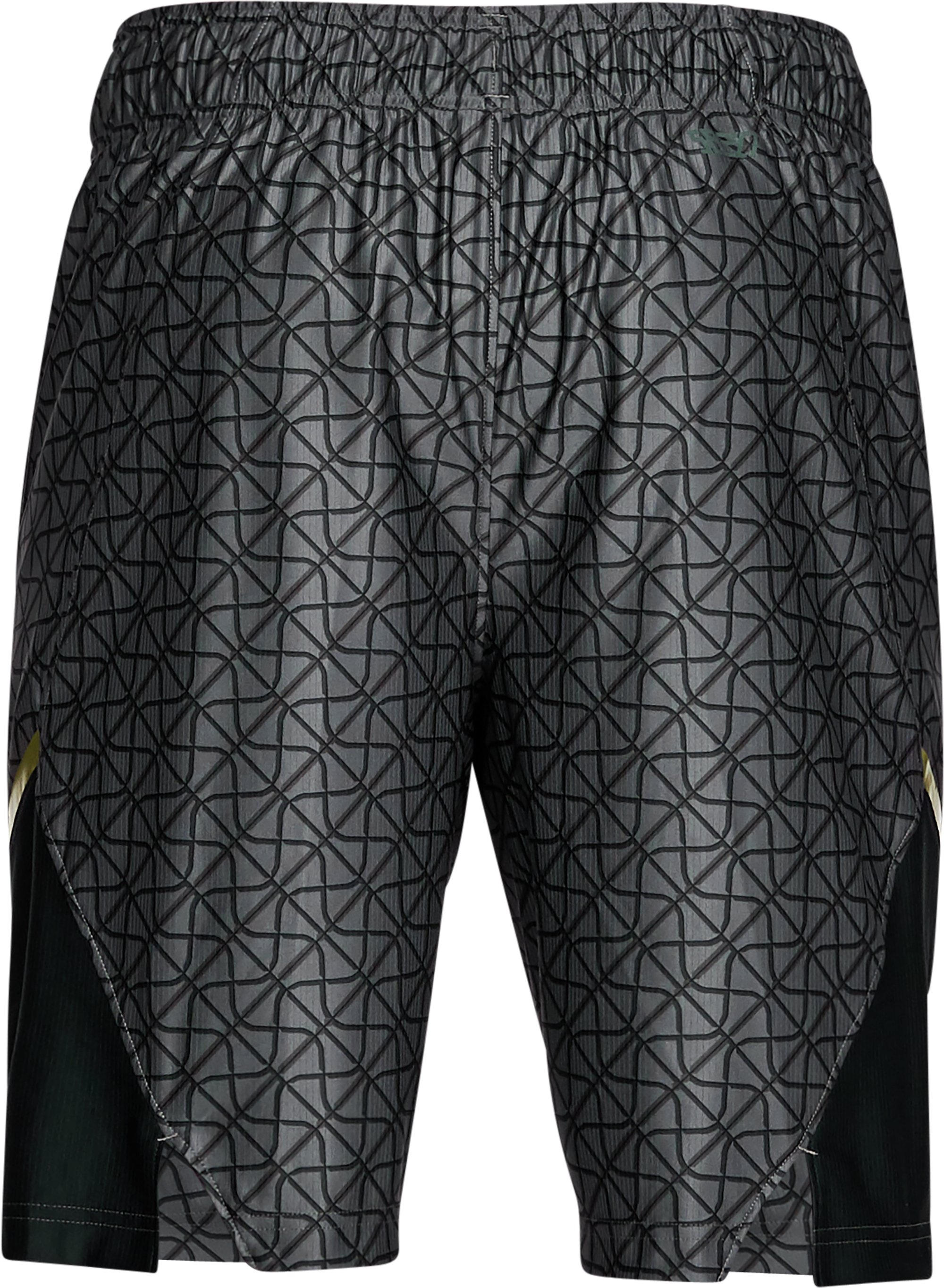 "Men's UA Select Printed 9"" Shorts, Black ,"