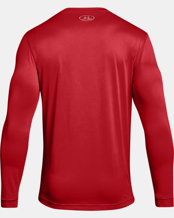 Men's UA Locker 2.0 Long Sleeve, Red, pdpMainDesktop image number 5