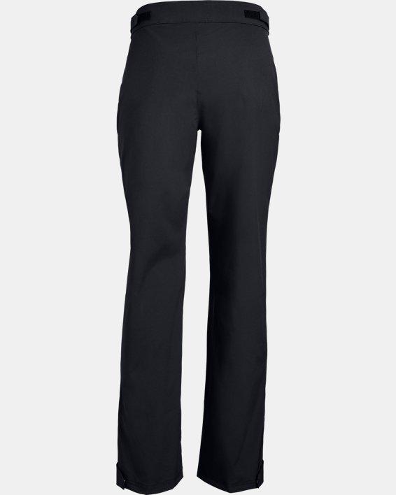 Women's UA Storm Rain Pants, Black, pdpMainDesktop image number 5