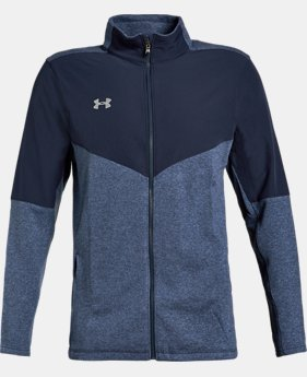 New to Outlet Men's UA Peak Performance Fleece Full Zip Jacket LIMITED TIME ONLY 1  Color Available $60