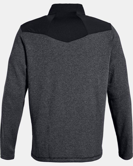 Men's UA Peak Performance Fleece ¼ Zip, Black, pdpMainDesktop image number 5
