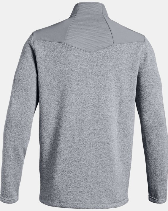 Men's UA Peak Performance Fleece ¼ Zip, Gray, pdpMainDesktop image number 5