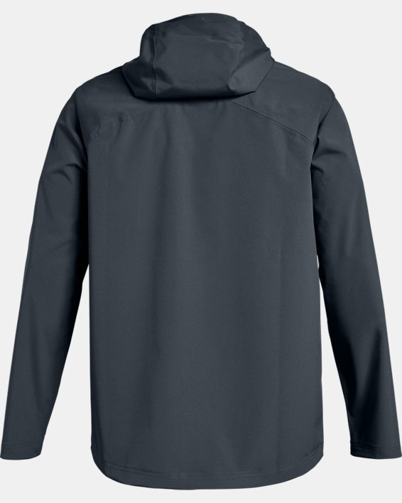 Men's UA Storm Rain Jacket, Gray, pdpMainDesktop image number 5