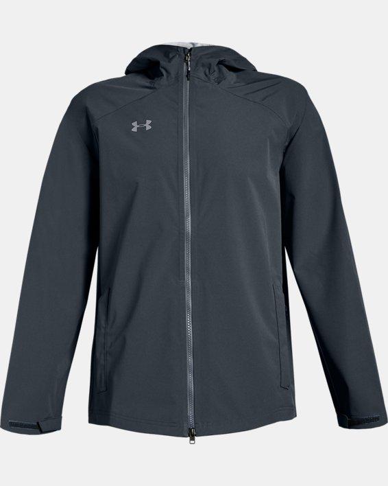 Men's UA Storm Rain Jacket, Gray, pdpMainDesktop image number 4
