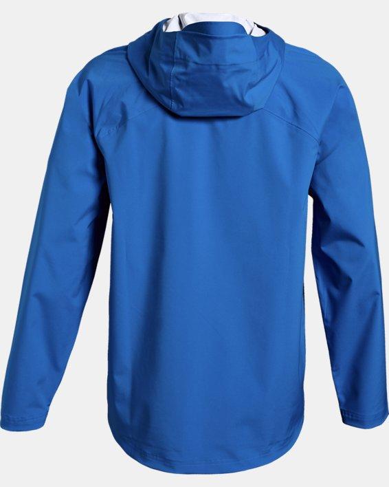 Men's UA Storm Rain Jacket, Blue, pdpMainDesktop image number 1