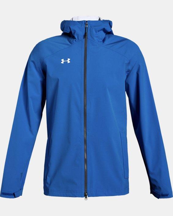 Men's UA Storm Rain Jacket, Blue, pdpMainDesktop image number 0