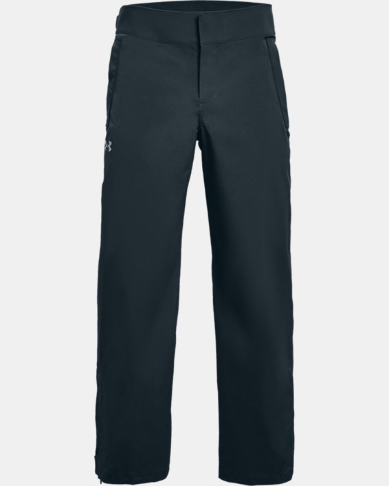 Men's UA Storm Rain Pants, Gray, pdpMainDesktop image number 0