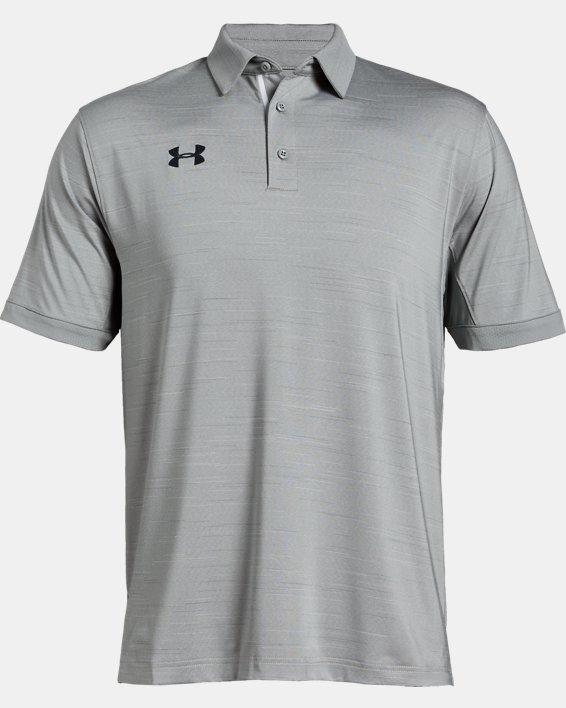 Men's UA Elevated Polo, Gray, pdpMainDesktop image number 4