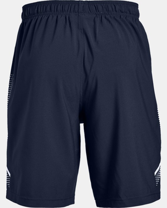 Men's UA Woven Training Shorts, Navy, pdpMainDesktop image number 5