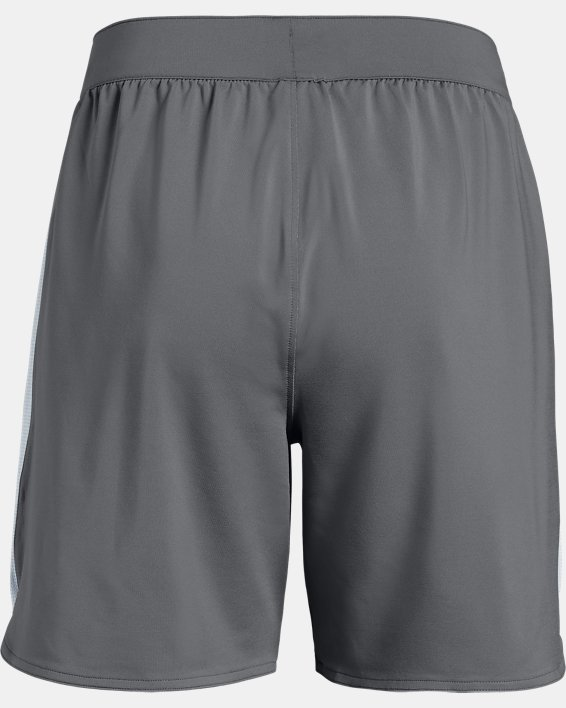 UA Women's UA Game Time Shorts, Gray, pdpMainDesktop image number 5
