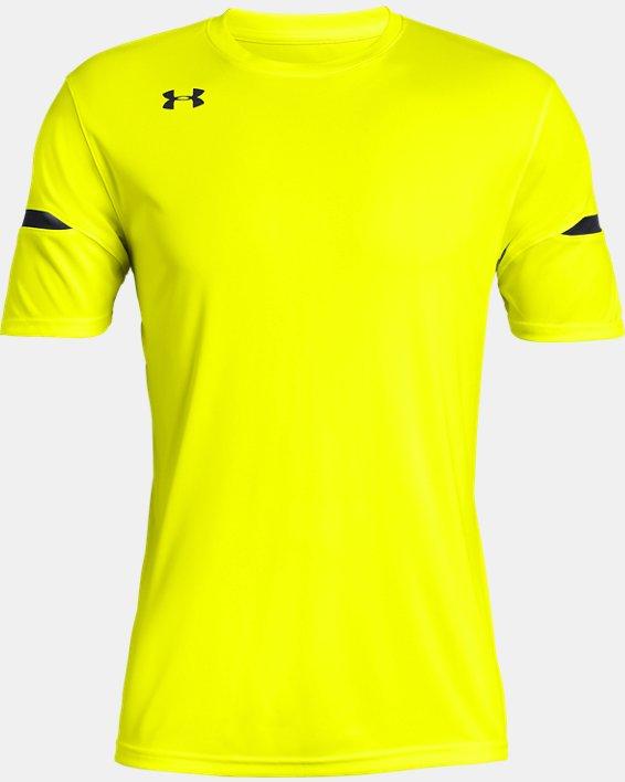 Men's UA Golazo 2.0 Jersey, Yellow, pdpMainDesktop image number 3