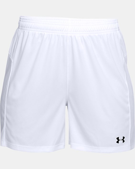 Women's UA Golazo 2.0 Shorts, White, pdpMainDesktop image number 3