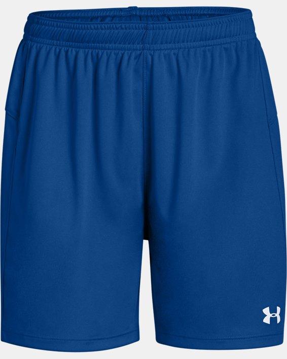 Women's UA Golazo 2.0 Shorts, Blue, pdpMainDesktop image number 3