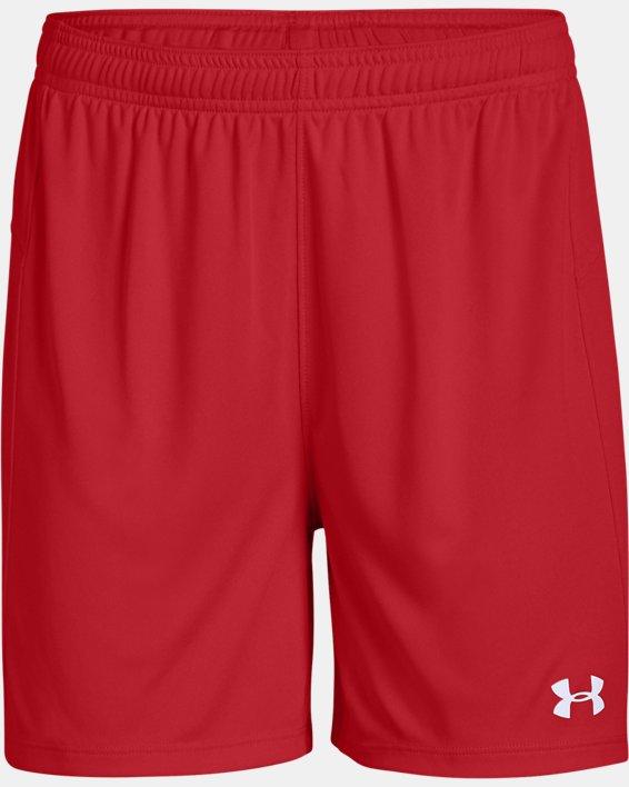 Women's UA Golazo 2.0 Shorts, Red, pdpMainDesktop image number 3